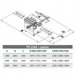 Круглопильный форматно-раскроечный станок PK 250A